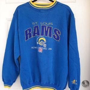 St. Louis Rams Blue Sweater